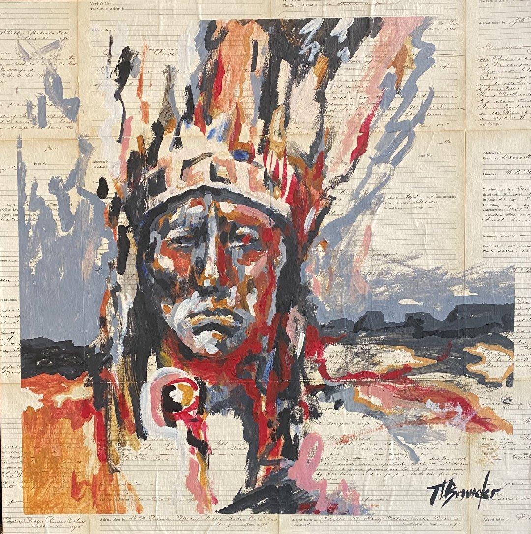 Original Painting: Quanah Parker